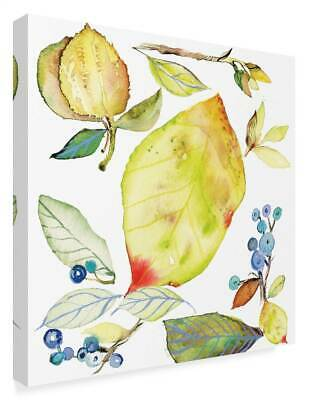 Kristy Rice 'Harvest Rush I' Gallery-Wrapped Canvas Art [ID 3762434]