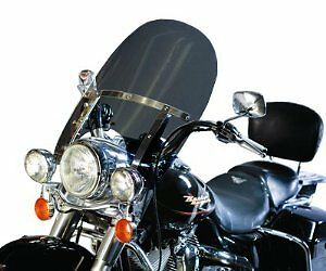 """Harley Davidson Road King windshield clear OEM height 19/"""" Lexan polycarbonate"""
