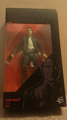 "Star Wars The black series 6"" Han Solo n.18."