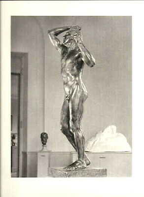 AUGUSTE RODIN-L'AGE D'AIRAIN-VINTAGE HELIOGRAVURE-ARCHES by ANDRE STEINER -1947