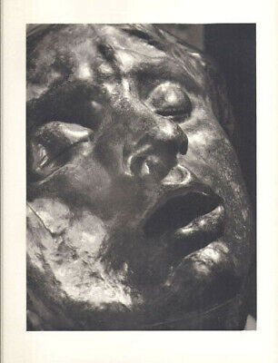 AUGUSTE RODIN -TÊTE DOULEUR -VINTAGE HELIOGRAVURE-ARCHES by ANDRE STEINER -1947