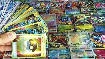 100 Pokemon Cards Ultimate Pack GX ULTRA RARE MULTIPLE Rares/shiny FAST DISPATCH