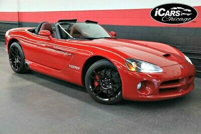 2006 Dodge Viper  2006 Dodge Viper SRT-10 2dr Convertible 1-Owner 20,250 Miles Red on Red Serviced