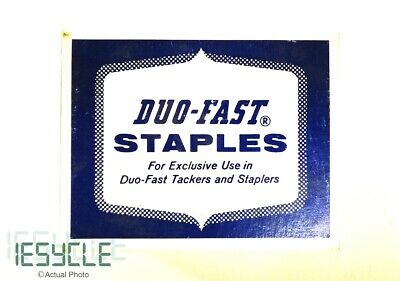 """NEW DUO-FAST Staples 1/2"""" 13,360 Counts 3116C"""