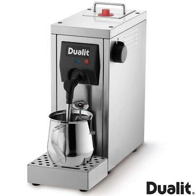 Dualit Cafe Cino Milk Steamer Compact Machine And Powerful Pump Stainless Steel