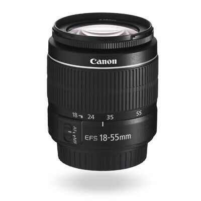 Canon EF-S 18-55mm f/3.5-5.6 III (White Box)