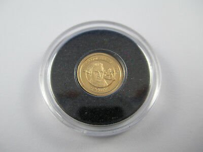 2012 James Cook - THE SMALLEST GOLD COIN -