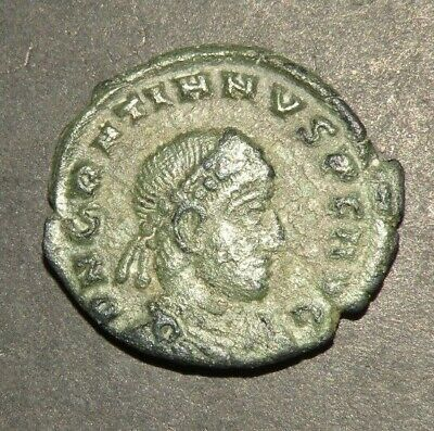 Western Roman Empire Coin Ancient Bronze Rare XF Gratian AD 367-383 Antique Lot