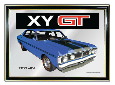 Bar Mirror/picture/ Sign/artwork Suit Blue Ford Xy Gt Enthusiast