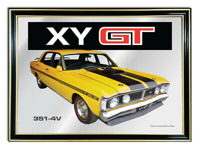 Bar Mirror/picture/ Sign/artwork Suit Yellow Ford Xy Gt Enthusiast