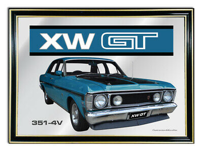 Bar Mirror/picture/ Sign/artwork Suit Starlight Blue Ford Xw Gt Enthusiast