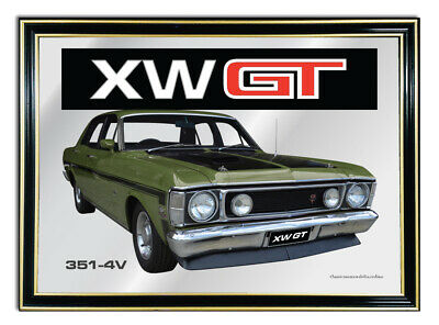 Bar Mirror/picture/ Sign/artwork Suit Reef Green Ford Xw Gt Enthusiast