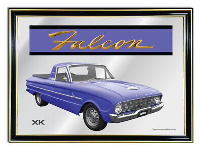 Bar Mirror/picture/ Sign/artwork Suit Blue Ford Falcon Xk Ute Enthusiast