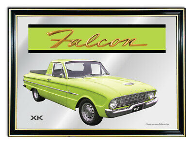 Bar Mirror/picture/ Sign/artwork Suit Lime Ford Falcon Xk Ute Enthusiast