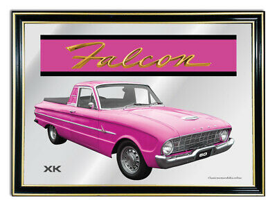 Bar Mirror/picture/ Sign/artwork Suit Pink Ford Falcon Xk Ute Enthusiast