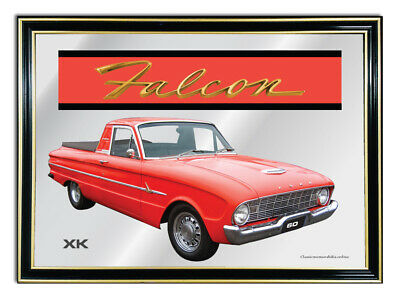 Bar Mirror/picture/ Sign/artwork Suit Red Ford Falcon Xk Ute Enthusiast