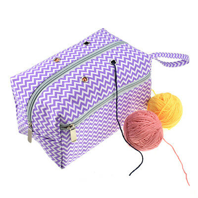Portable Large Yarn Storage Bag Knitting Crochet Tote Organizer Holder CaseE Hy