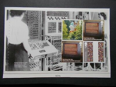 GB 2015 Inventive Britain~Prestige Stamp Booklet Pane~2~ex DY12~Unmounted Mint