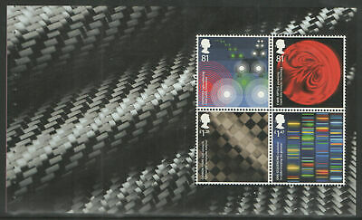 GB 2015 Inventive Britain~Prestige Stamp Booklet Pane~3~ex DY12~Unmounted Mint