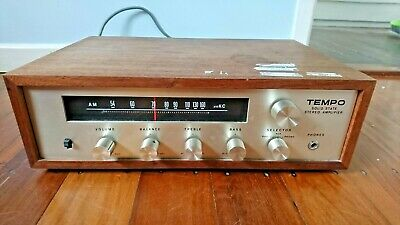 Tempo Vintage solid state amplifier