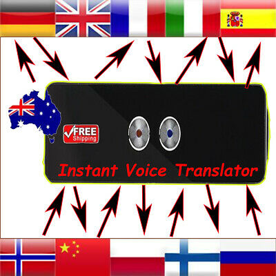 2019 Portable Wireless Two-Way Real Time Multi-Language Instant Voice Translator