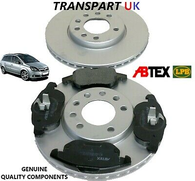 VAUXHALL VECTRA C DIESEL CDTI 150BHP 120BHP FRONT AND REAR BRAKE PADS SET 04-09