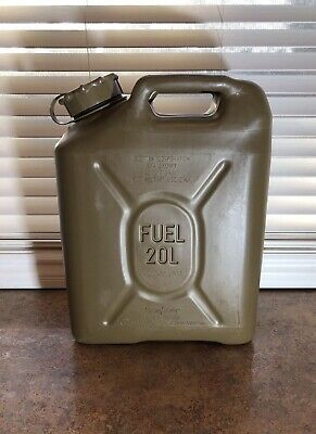Scepter Military Fuel Can MFC 5 Gallon 20L Fuel Gas Jerry Can