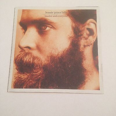 "Bonnie ""Prince"" Billy - Master and Everyone CD (2003) Will Oldham"