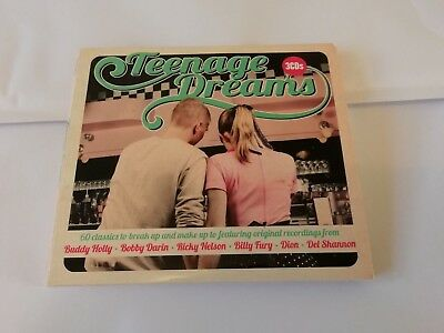 Teenage Dreams - Various - CD X 3 (2015) 1960s Pop Rock & Roll