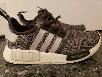 ccb1762f3 Womens Adidas NMD R1 BY3035 Midnight Glitch Camo Running Shoes. Size 10  Nice!