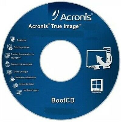 Acronis True Image Boot Cd Iso | Versions 2010|2012 |2014 |2016 |2019 | Instant|