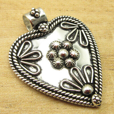 """ANCIENT STYLE Pendant 1.6"""" Gift Idea ! Silver Plated Metal Jewelry ONLINE STORE"""