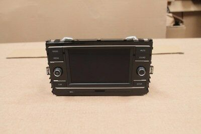 VW Golf 7 Facelift SD Composition Color Touch Bedieneinheit Radio 5G6035867