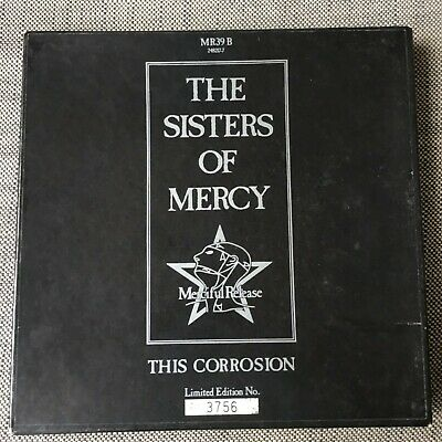 """The Sisters Of Mercy This Corrosion 7"""" Box Set With Art Prints"""