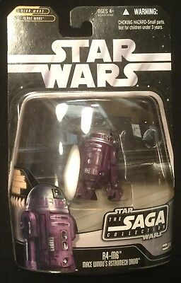 "R4-M6 Mace Windu astromech droid Saga #74 Star Wars action figure 3.75"" 2006"