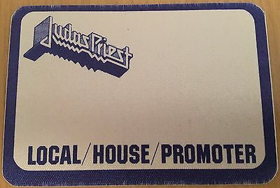 Pase De Tela - Ticket - Entrada Concierto - Judas Priest - Local/House/Promoter