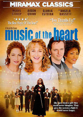 Music of the Heart (DVD, 2011, PS)