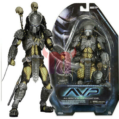 "NECA AVP Chopper Predator 7"" Action Figure Alien vs Predators Movie Series 14"