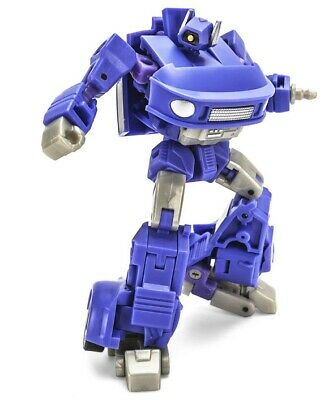 NEWAGE Toys Transformers Mini Warrior Heroes 02 H2P Cyclops Longblast In Stock