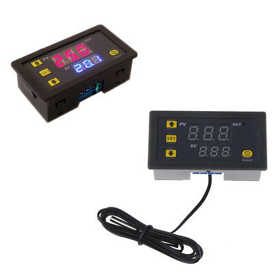 12V Timing Delay Relay Module Digital LED Dual Display 0-999 hours Cycle/Timer I