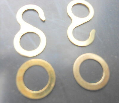 Cuckoo Weight Rings+Hooks  Clock Regula Chain  1 Day + 8 Day Germany Hubert Herr