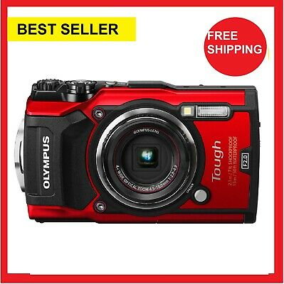 Olympus Stylus TOUGH TG-5 Digital Cameras - Red