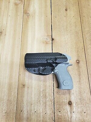 Concealment CZ P-01 IWB Carbon Fiber Black KYDEX Holster Righthand