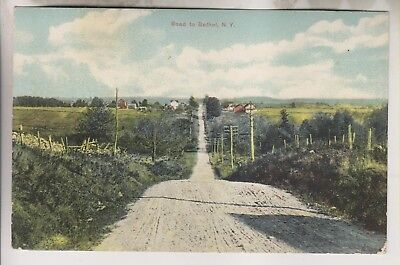 1913 Postcard - Road To Bethel New York