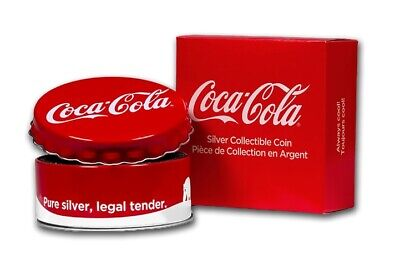 Fidji 2 Dollars 1 Once Argent Ours Polaire Coca Cola 2019