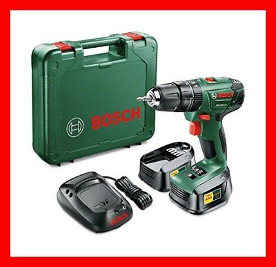 Bosch PSB 1800 LI 2 Cordless Combi Drill with Two 18 V Lithium Ion Batteries NEW