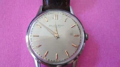 Rare Vintage Iwc Cal 60 Gents Watch Circa 1940's