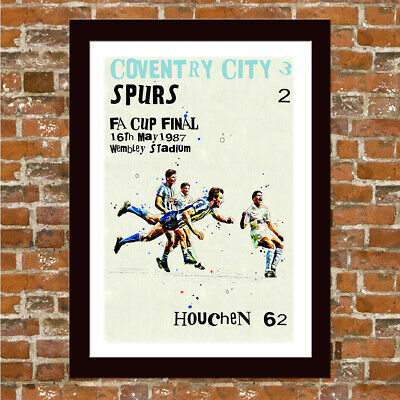 Coventry City - 1987 Fa Cup Final - Keith Houchen Framed Art Print