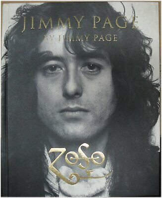 Jimmy Page by Jimmy Page Hand Stamped Book Led Zeppelin ZOSO W/ Proof pic