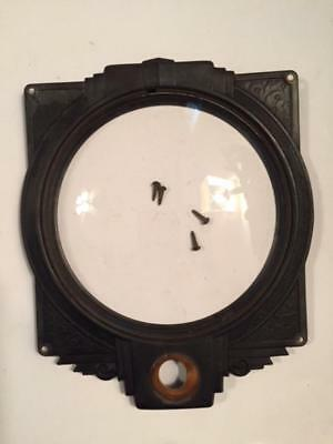 Vintage/Antique 1936 Silvertone Radio Escutcheon with Screws